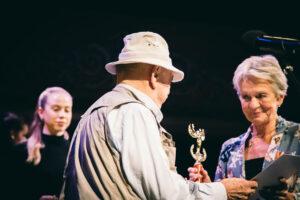 Arany Medál díjátadás 2020-Bodrogi Gyula és Hámori Ildikó
